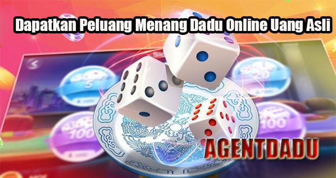 Dapatkan Peluang Menang Dadu Online Uang Asli